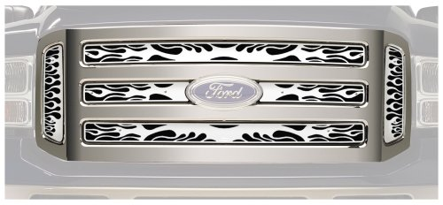 (Putco 89155 Flaming Inferno Stainless Steel Grille)