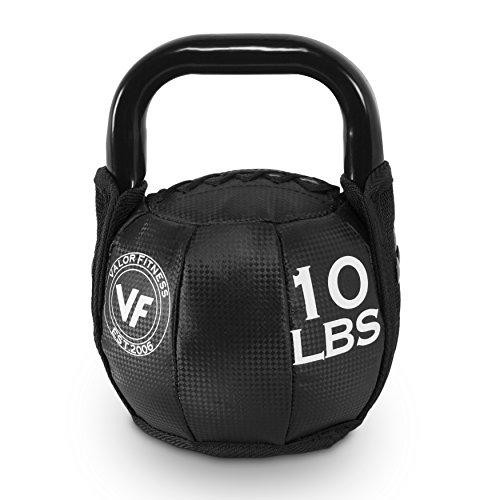 Valor Fitness SKB-10 Soft Kettlebell, 10 lb