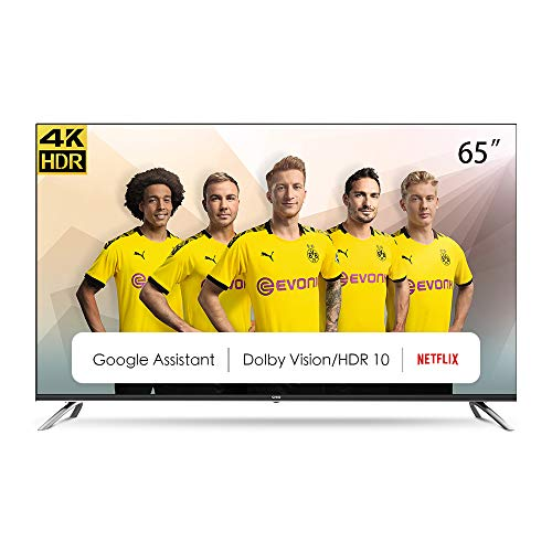 CHiQ U65H7A, 65 Pouces (165 cm), Android 9.0, Smart TV, UHD, 4K, WiFi, Bluetooth, Google Play Store, Google Assistant…