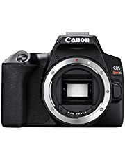 CANON EOS REBEL SL3 DSLR Camera, Built-in Wi-Fi, Dual Pixel CMOS AF and 3.0 inch Vari-angle Touch Screen, Body, Black photo