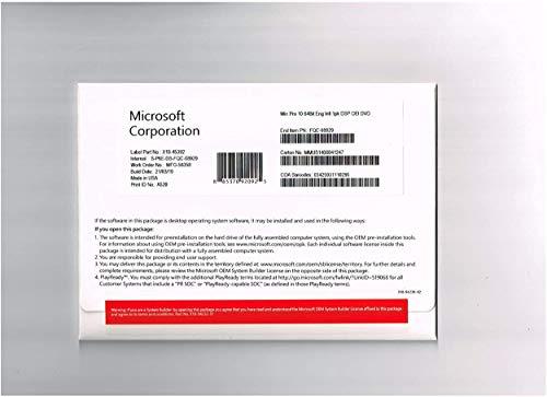Windows 10 professionele dvd 64-bits OEM | Nieuw | Pro Engels volledig verpakt – Windows 10 Pro OEM