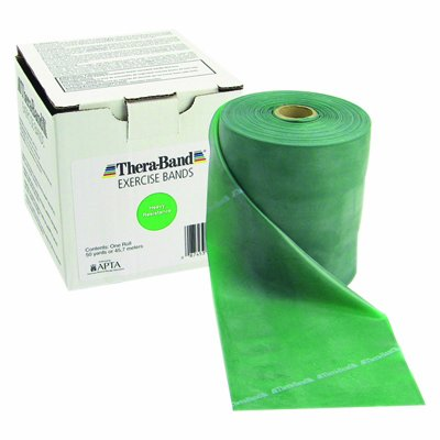 Exercise Band Size/Color: Extra Heavy/Green by TheraBand