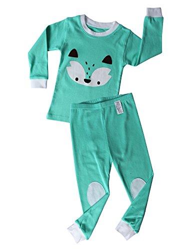 UniFriend Premium Little Girls,Boys 2 Piece Pajama Set