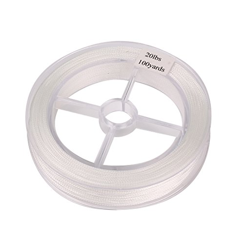 Andux Fly Line Backing Fly Fishing F/BYX 20-LB 100yards white