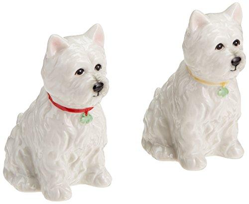 Terrier Cookie Jar - StealStreet SS-CG-20885, 2.88 Inch Ceramic Westie Dog Salt and Pepper Shaker, Set of 2