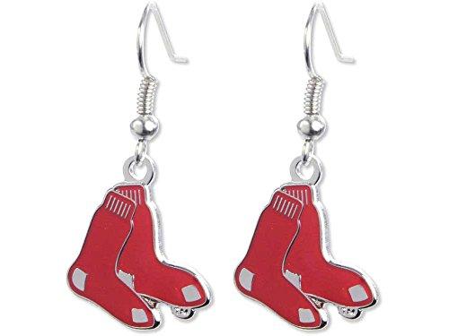 - Boston Red Sox - MLB Team Logo Dangler Earrings