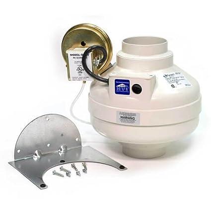 "System Air Fantech DBF 110 secador Booster Ventilador 4 ""conducto ..."
