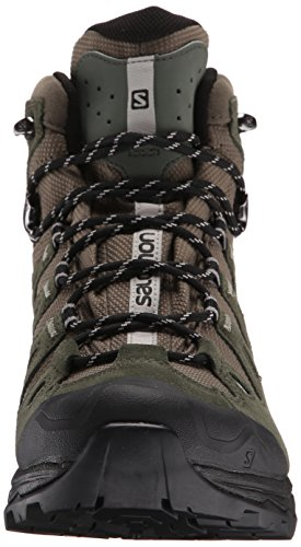 Salomon Quest Prime GTX, Scarpe da Arrampicata Uomo Verde (Swamp/Night Forest/Titanium 000)