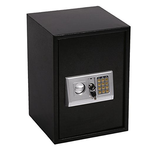 Safe Box,Lock Box Electronic Safe Box,Combination Security Cabinet Digital Safe Box 1.8 CF Large for Office Home Hotel Gun Jewelry Money Safe by Best Security