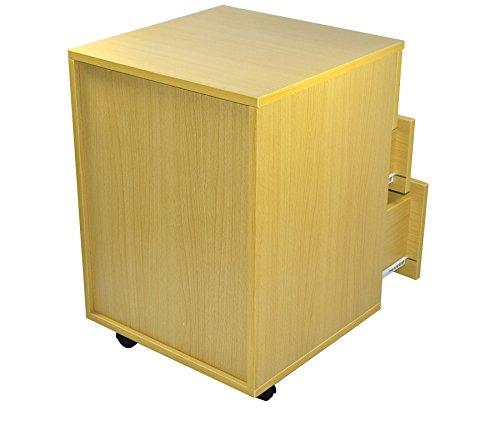 cassetto 120 x 60 x 75 cm Markenlos Scrivania per Computer con ripiano fattura con Iva Base
