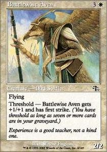 Magic: the Gathering - Battlewise Aven - Judgment - Foil