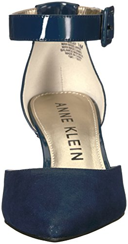 Anne Klein Womens Fabulist Synthetic Pump Navy vjgUocy