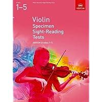 Violin Specimen Sight-Reading Tests, ABRSM Grades 1-5: from 2012