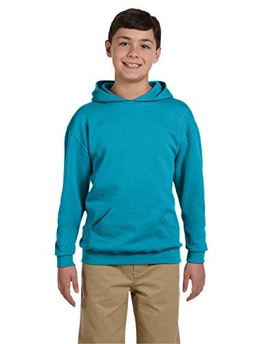 Jerzees Youth 8 oz., 50/50 NuBlend Fleece Pullover Hood, Medium, CALIFORNIA BLUE