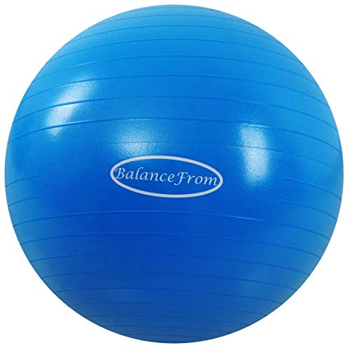 BalanceFrom Anti-Burst and Slip Resistant Exercise Ball Yoga Ball Fitness