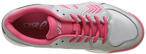 Red Blu Chaussures Tennis rouge dedicate white Clay rosa Gel silver Asics 5 De Scuro Femme Gris SwUxAzA6