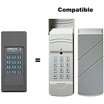 Linear Wireless Keypad 298601 Garage Door Remote