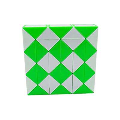 PeaceJoyMagic Snake Cube Twist Puzzle Bundle of 3! 36 Wedges! 3 Large Cubes (Large 3 Pack): Toys & Games