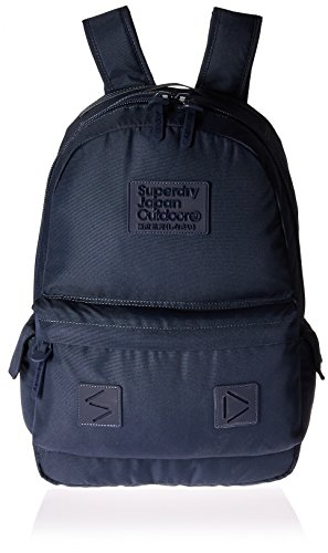 Superdry Men's Silicone Montana Rucksack Backpack, Dark Navy, One ()