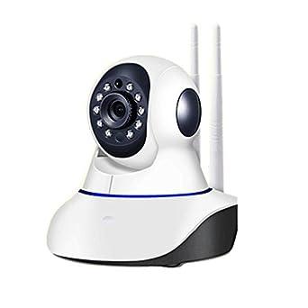 Wiiguda@ Cámara de Vigilancia WI-FI 720P HD, IR Vision nocturna HD 720P