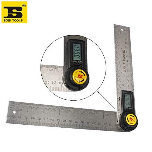 Graven BOSI - Transportador digital de ángulos (200 mm)