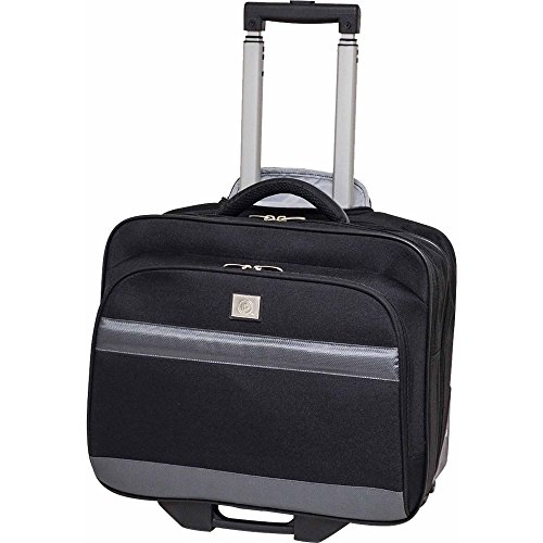 Rolling Briefcase With Laptop Compartment On Wheels Roll Com