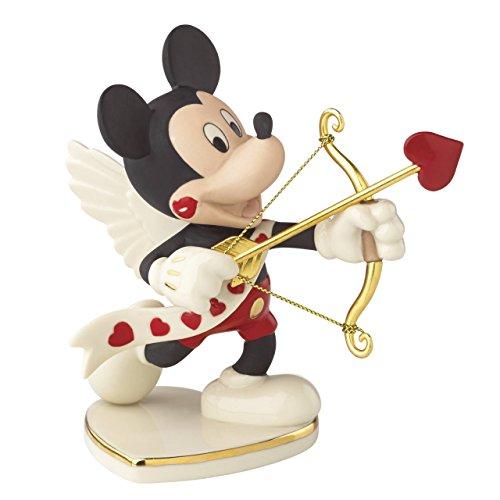 Lenox Classics Disney's Mickey's Valentine for You Figurine (Valentine Figurines)