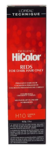 L'Oreal Excellence HiColor Copper Red 1.74 oz. Tube
