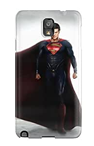 New VyLjaCR3076ZsOVZ Zack Snyder Man Of Steel Skin Case Cover Shatterproof Case For Galaxy Note 3