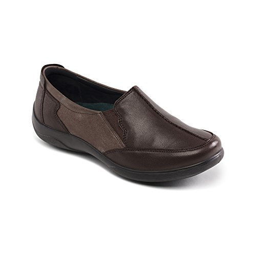 Slip Femme Chaussures Padders Brown Combi on Flute n8RR7S