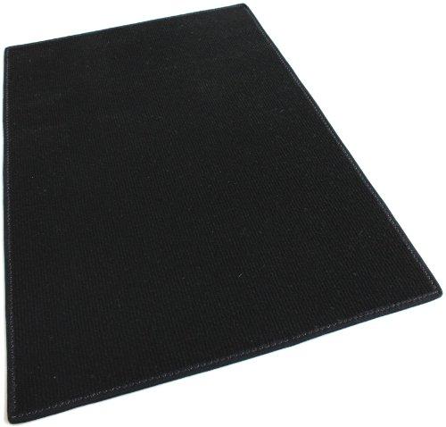 Koecritz 4'x8' - BLACK - Indoor/Outdoor Area Rug Carpet, ...