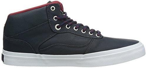 Bestelwagen Heren Bedford Skateboardschoen (gecoat) Marine / Wit