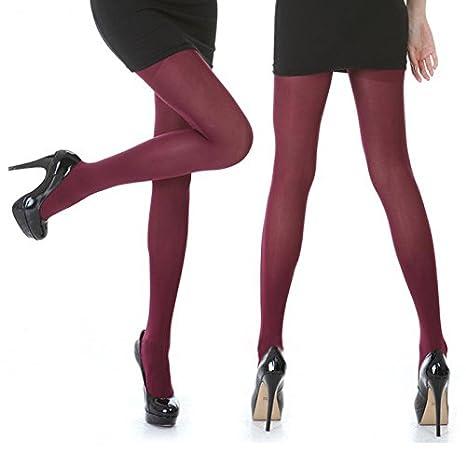 swall owuk Mujer Sexy Leotardos undur chsichtige Calcetines Leggings rojo granate: Amazon.es: Productos para mascotas