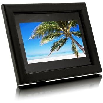 Amazon.com : Aluratek 7-Inch Digital Photo Frame with 256MB (Black ...