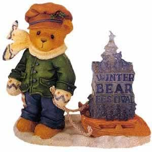 Cherished Teddies James - Going My Way for the Holidays 269786