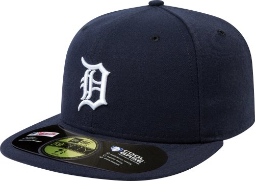 (New Era MLB Detroit Tigers Home AC On Field 59Fifty Fitted Cap-738)