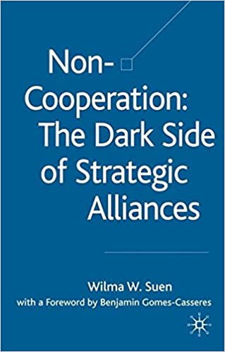Non-Cooperation: The Dark Side of Strategic Alliances