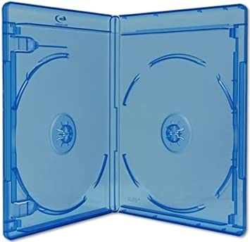Viva Elite Double Blu Ray 2 cajas de discos delgadas, 6 mm, 5 ...