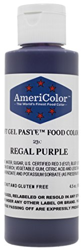 Price comparison product image Americolor Soft Gel Paste Food Color,  4.5-Ounce,  Regal Purple