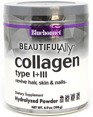 Bluebonnet Nutrition Beautiful Ally Collagen Peptides Powder, 6.9 Count