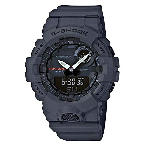 Mens Casio G-Shock Analog-Digital Urban Trainer Charcoal Watch GBA800-8A