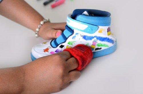 Skribbies , Mädchen Sneaker Blau blau