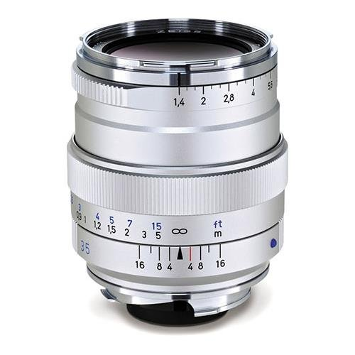 Zeiss Distagon T* 35mm f/1.4 ZM Mount Lens (Silver) for sale  Delivered anywhere in USA