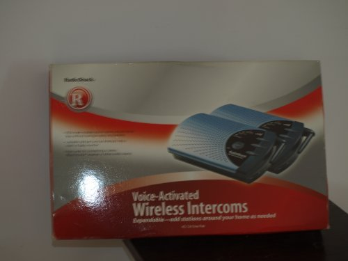 Radio Shack Wireless Intercom System by Radio Shack (Shack Radio System)