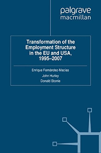 Download Transformation of the Employment Structure in the EU and USA, 1995-2007 Pdf