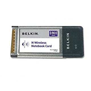 Belkin Dual-Band Wireless A+G Notebook Network Card (B0009816VU) | Amazon price tracker / tracking, Amazon price history charts, Amazon price watches, Amazon price drop alerts