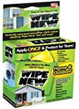 Wipe New, Easy to Use Wipe-It Kit. For Home and Outdoors, 5 Pack Wipes, Restores and Protects Vinyl, Plastic, Stone, Fiberglass, Metal