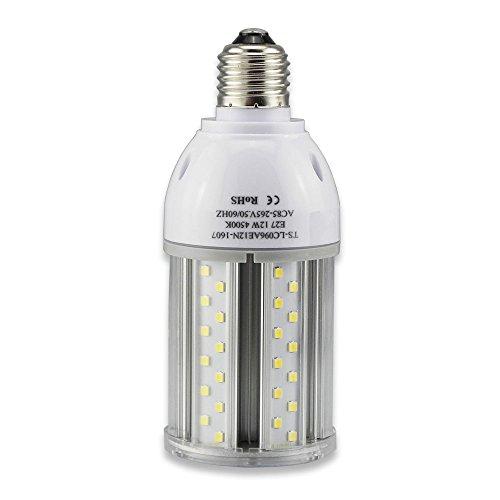 Tongsung LED-Lampen, Natürlich Weiß (4500K) Mit breitem Eingangsspannung AC85V-265V, Super Bright Light Output, Mit Aluminiumlegierung Bau und Staubschutz (Schutzstufe : IP64). E27 Cap