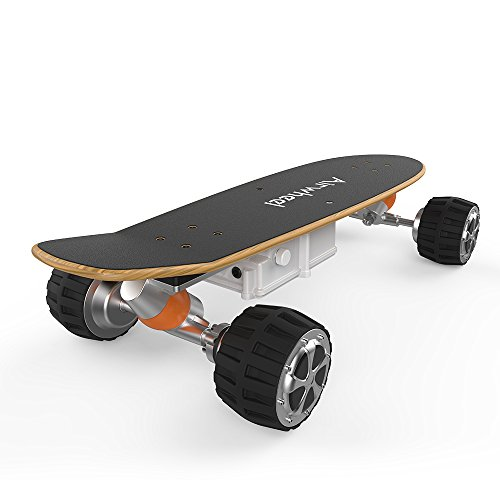 Airwheel M3 Electric Longboard Skateboard Controlled By Handhold Wireless Remote and Support (Damper Remote Controller)