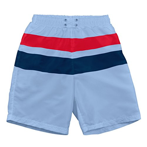 i play. Baby & Toddler Boys Colorblock Trunks with Built-In Swim Diaper